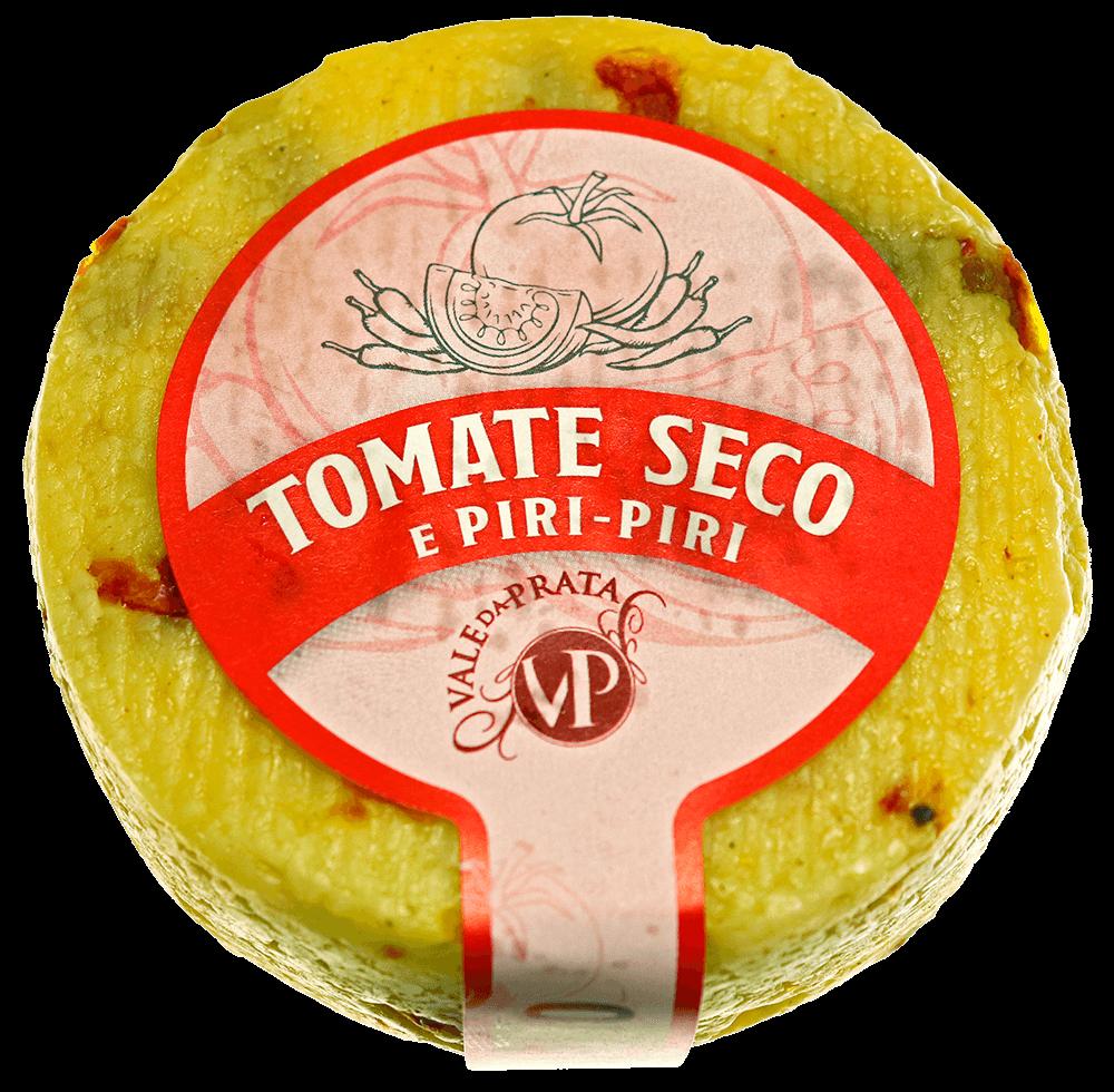 Queijo tomate seco e piripiri